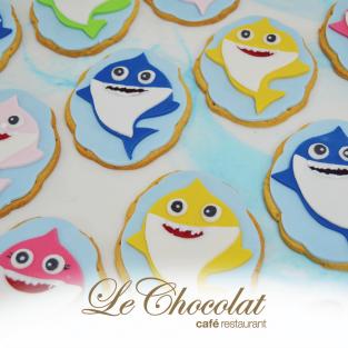 Baby Shark Sugar Cookies