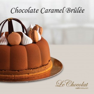 Chocolate Caramel Brûlée
