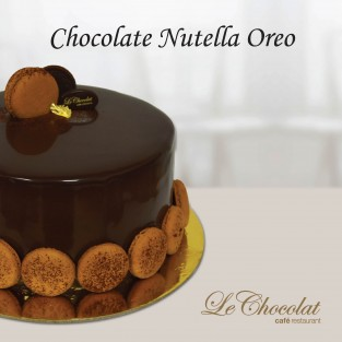 Chocolate Nutella Oreo
