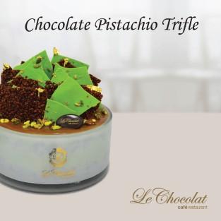 Chocolate Pistachio Trifle