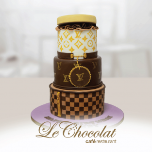 LV Tiered Cake