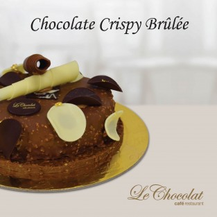 Chocolate Crispy Brûlée