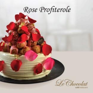 Rose Profiterole