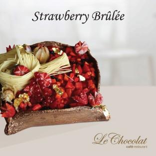 Strawberry Brûlée