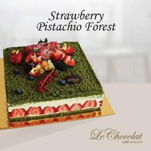 Strawberry Pistachio Forest