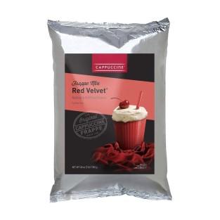 Cappuccine Red Velvet Frappe Mix - 3 lb Bag