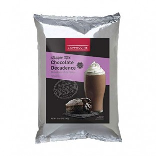 Cappuccine Chocolate Decandence Frappe Mix - 3 lb Bag