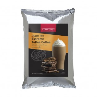 Cappuccine Toffee Coffee Frappe Mix - 3 lb Bag